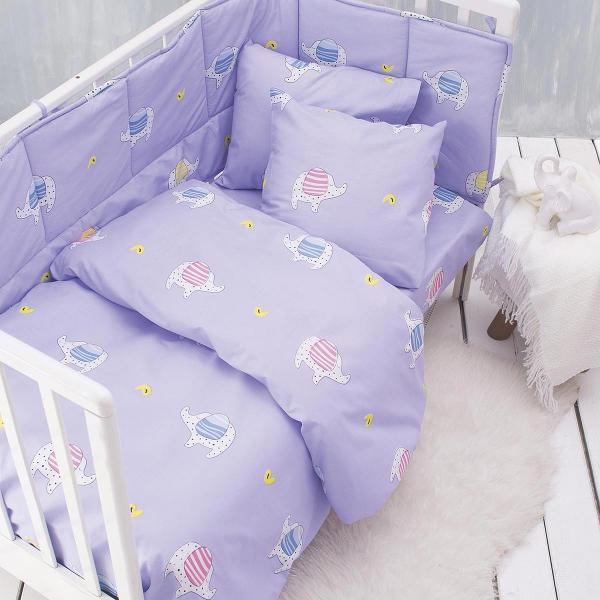 Σεντόνια Κούνιας (Σετ) Rythmos Baby Wooly Pink