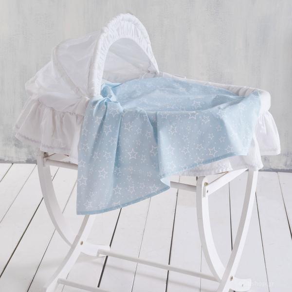 Σεντόνι Λίκνου Rythmos Baby Bright Blue