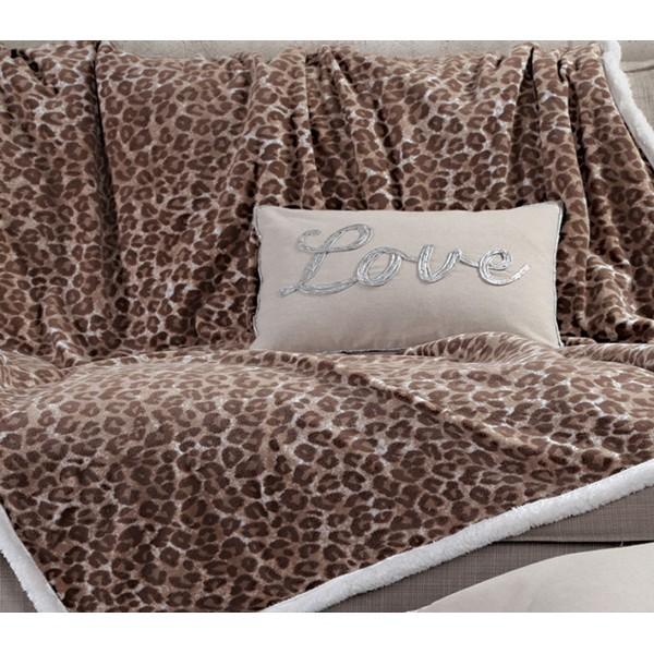 Κουβέρτα Καναπέ Με Γουνάκι Nef-Nef Animal Brown