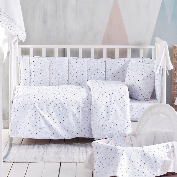 Πάντα Κούνιας Rythmos Baby Confetti Grey