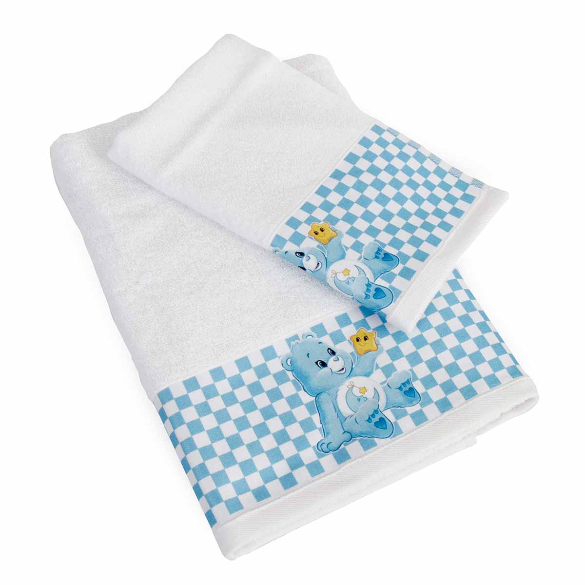 Βρεφικές Πετσέτες (Σετ 2τμχ) Dimcol Baby Bear 81 Λευκό