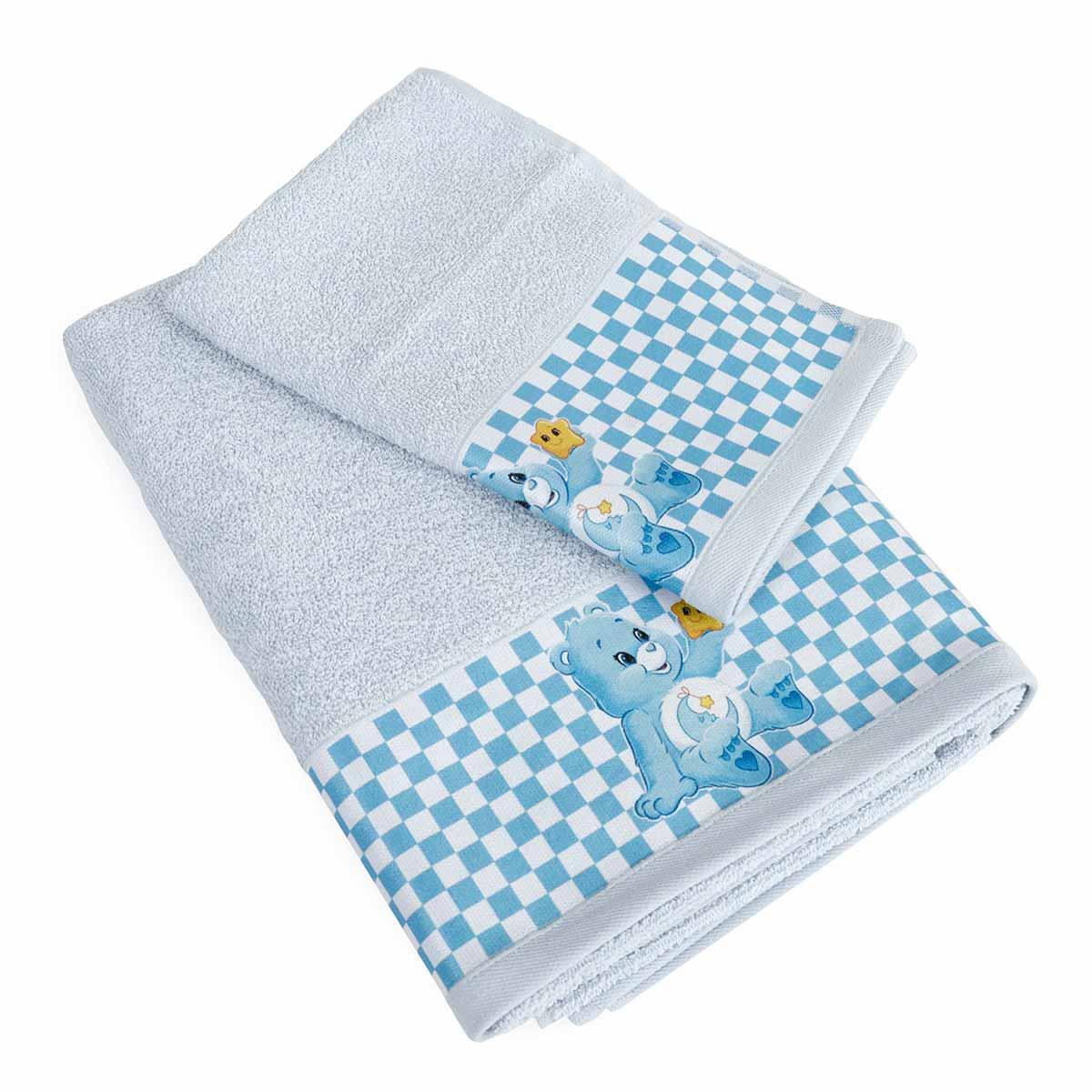 Βρεφικές Πετσέτες (Σετ 2τμχ) Dimcol Baby Bear 83 Σιέλ