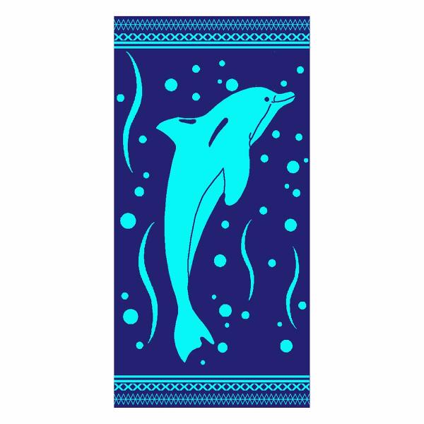 Πετσέτα Θαλάσσης Dimcol 067 Blue