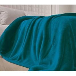 Κουβέρτα Fleece Υπέρδιπλη Nef-Nef Planet Πετρόλ