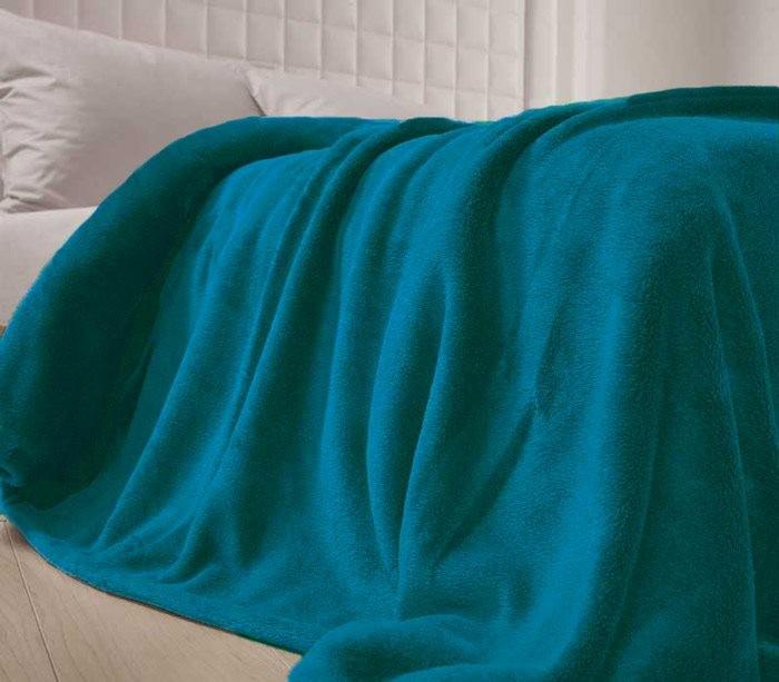 Κουβέρτα Fleece Υπέρδιπλη Nef-Nef Planet Petrol