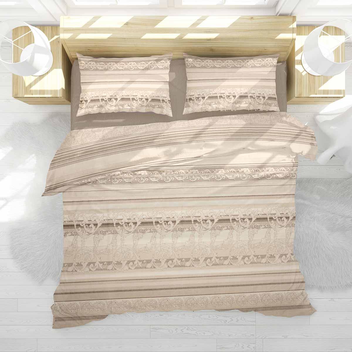 Σεντόνια Υπέρδιπλα (Σετ 220×240) Dimcol Αίσθησις 252