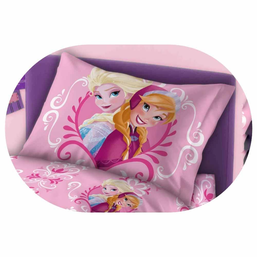 Ζεύγος Μαξιλαροθήκες Παιδικές Dimcol Frozen 216