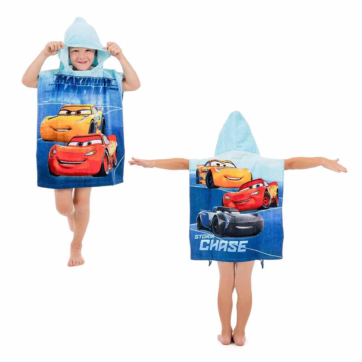 Παιδικό Πόντσο Dimcol Cars 07