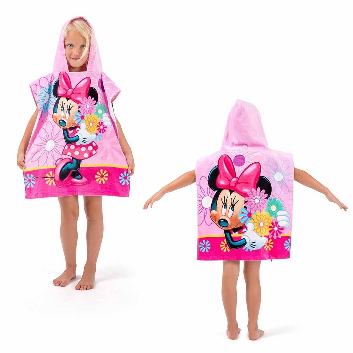 Παιδικό Πόντσο Dimcol Minnie 04