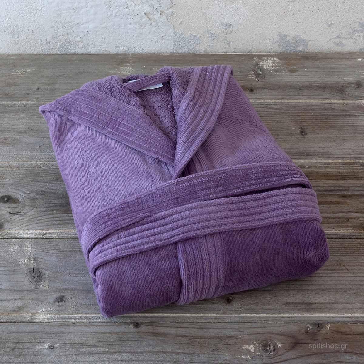 Μπουρνούζι Nima Zen Bath Mauve LARGE LARGE