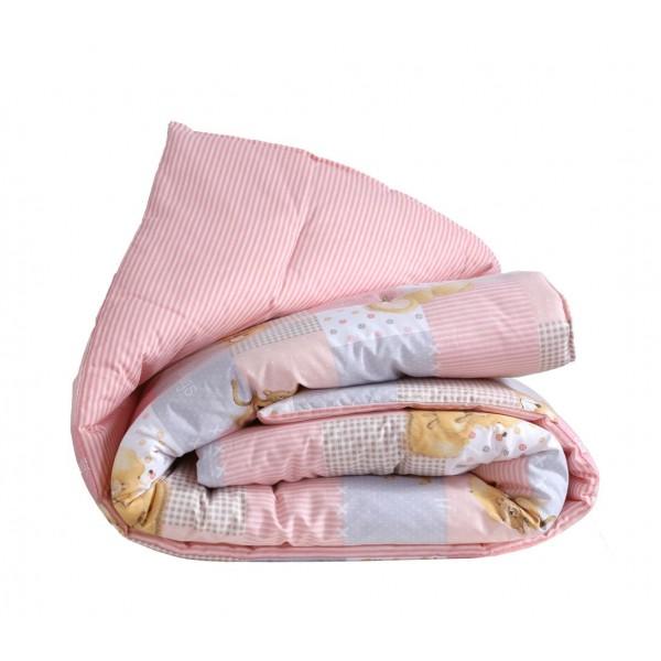 Πάπλωμα Κούνιας Nef-Nef Baby FF Big Hugs Pink