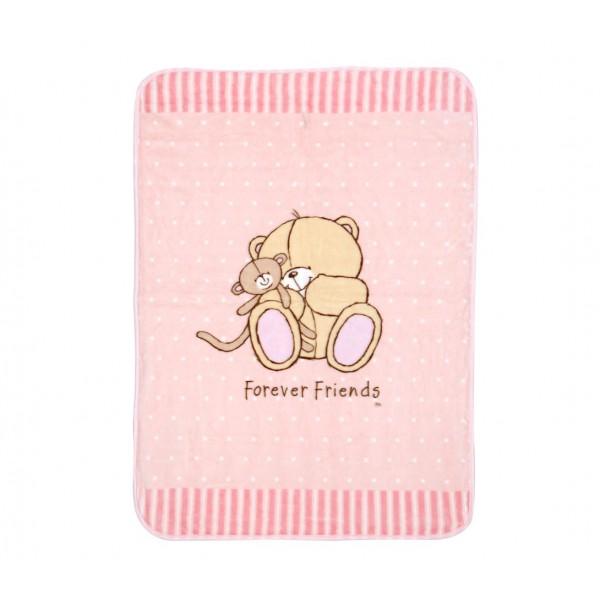 Κουβέρτα Βελουτέ Αγκαλιάς Nef-Nef Baby FF Big Hugs Pink