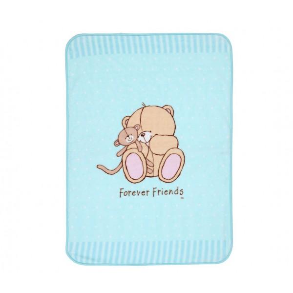 Κουβέρτα Βελουτέ Αγκαλιάς Nef-Nef Baby FF Big Hugs Mint