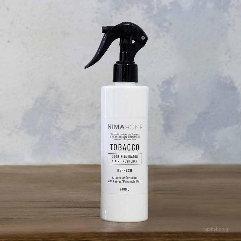 Αρωματικό Σπρέυ Αντικαπνικό 240ml Nima Aroma Tobacco