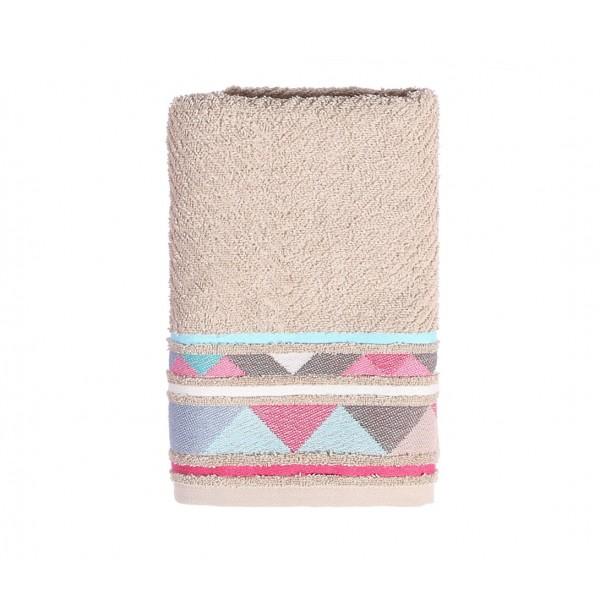 Πετσέτα Προσώπου (50x90) Nef-Nef Opal Beige