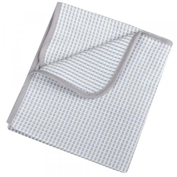 Κουβέρτα Πικέ Αγκαλιάς Κόσμος Του Μωρού 0332 Λευκό-Γκρι