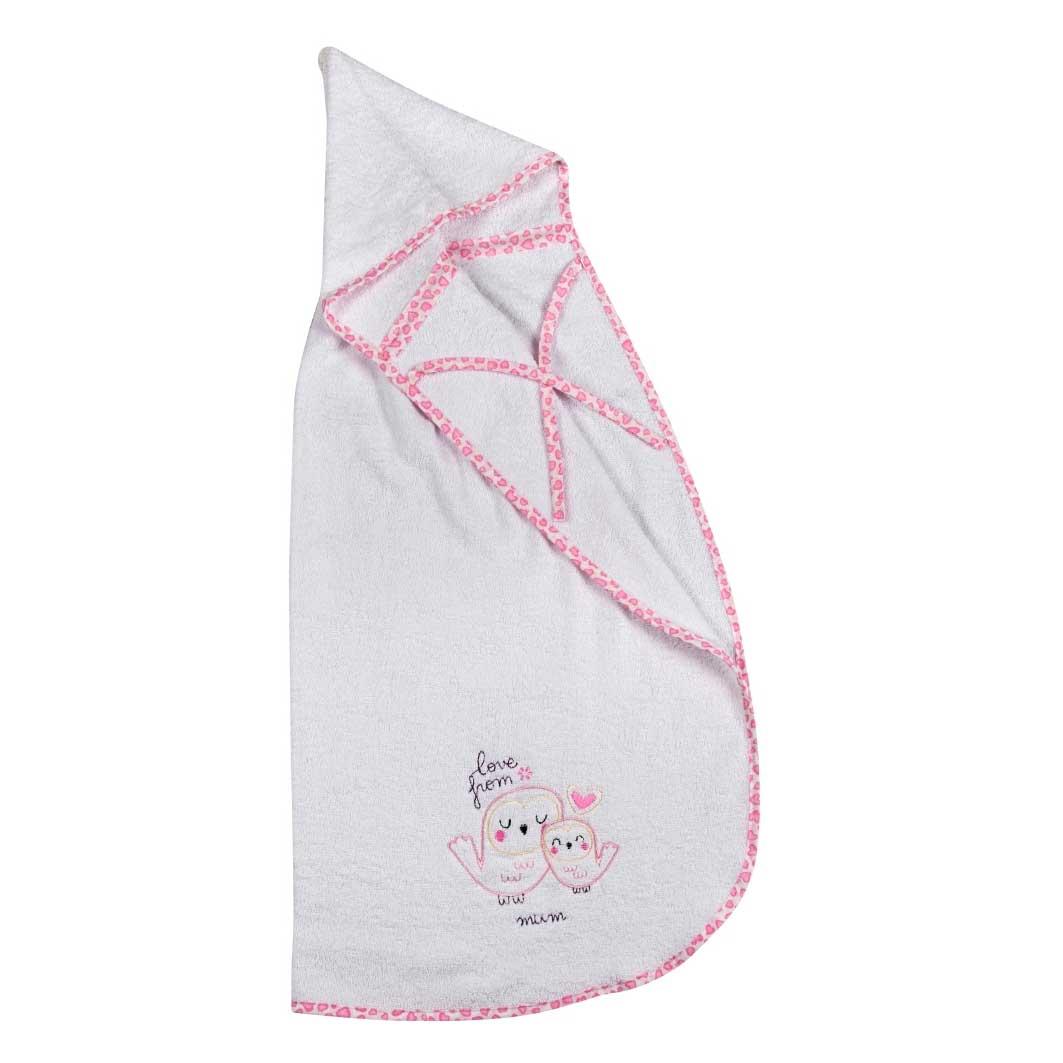 Βρεφική Κάπα Κόσμος Του Μωρού 0450 Love From Mum Ροζ