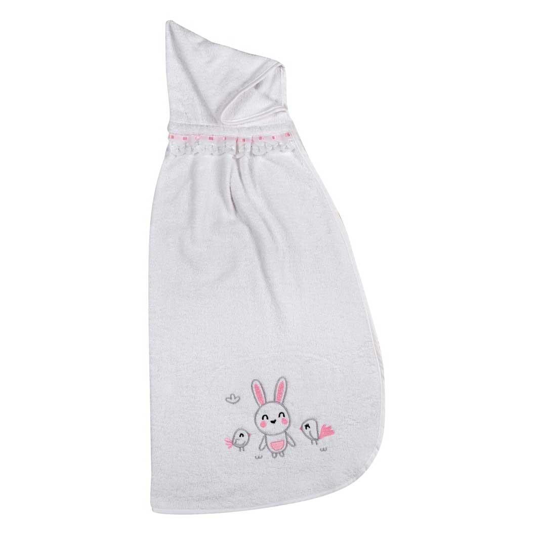 Βρεφική Κάπα Κόσμος Του Μωρού 0460 Birdy Bunny Ροζ