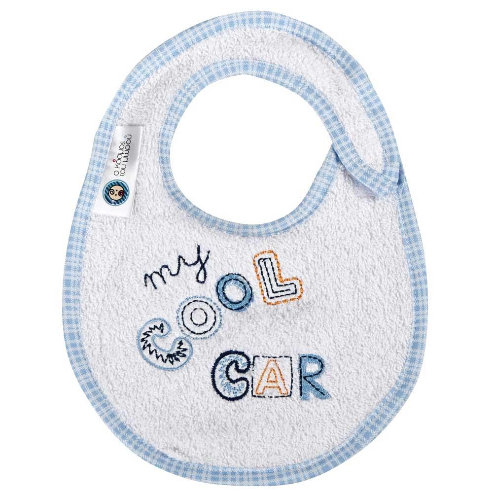 Σαλιάρα Μικρή Κόσμος Του Μωρού 0607 Cool Car Σιέλ
