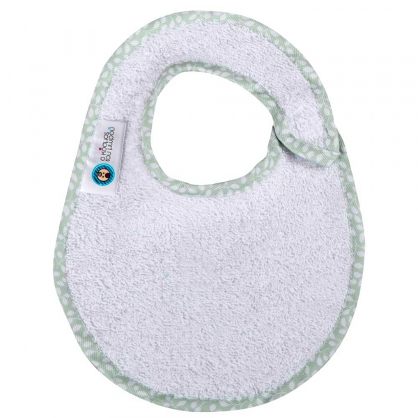Σαλιάρα Μικρή Κόσμος Του Μωρού 0611 Φυλλαράκια Μέντα