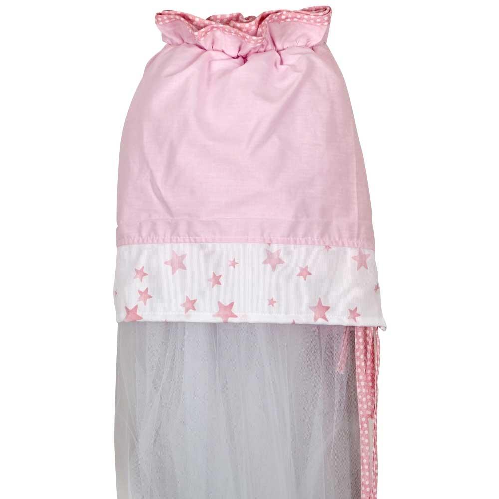 Κουνουπιέρα Κούνιας Κόσμος Του Μωρού 7928 Bobos Ροζ