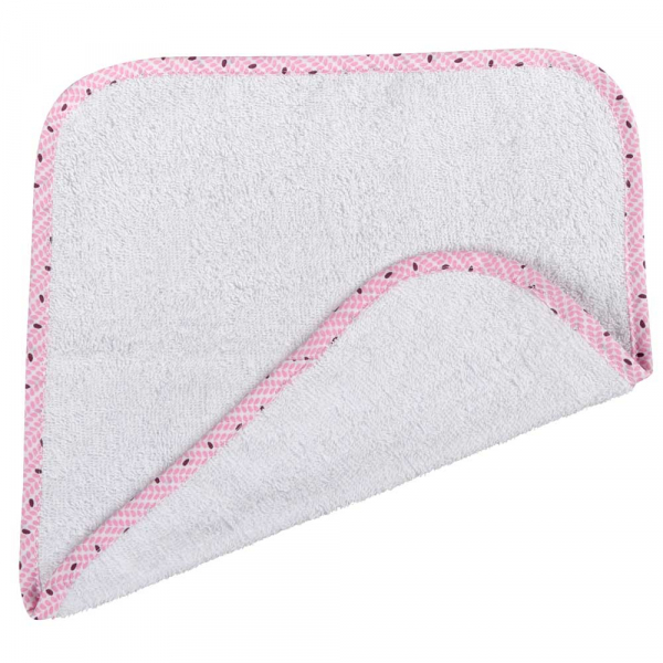 Βρεφική Λαβέτα (30x30) Κόσμος Του Μωρού 0636 Rice Ροζ