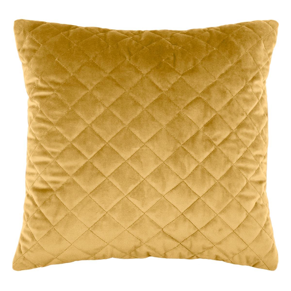 Διακοσμητικό Μαξιλάρι (40×40) S-F Danae Matela Moutarde C08630011
