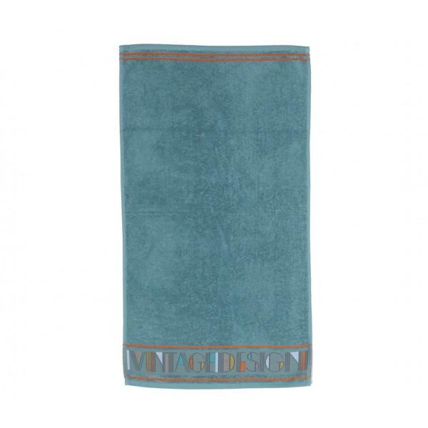 Πετσέτα Προσώπου (50x90) Nef-Nef Bathroom Vintage Aqua