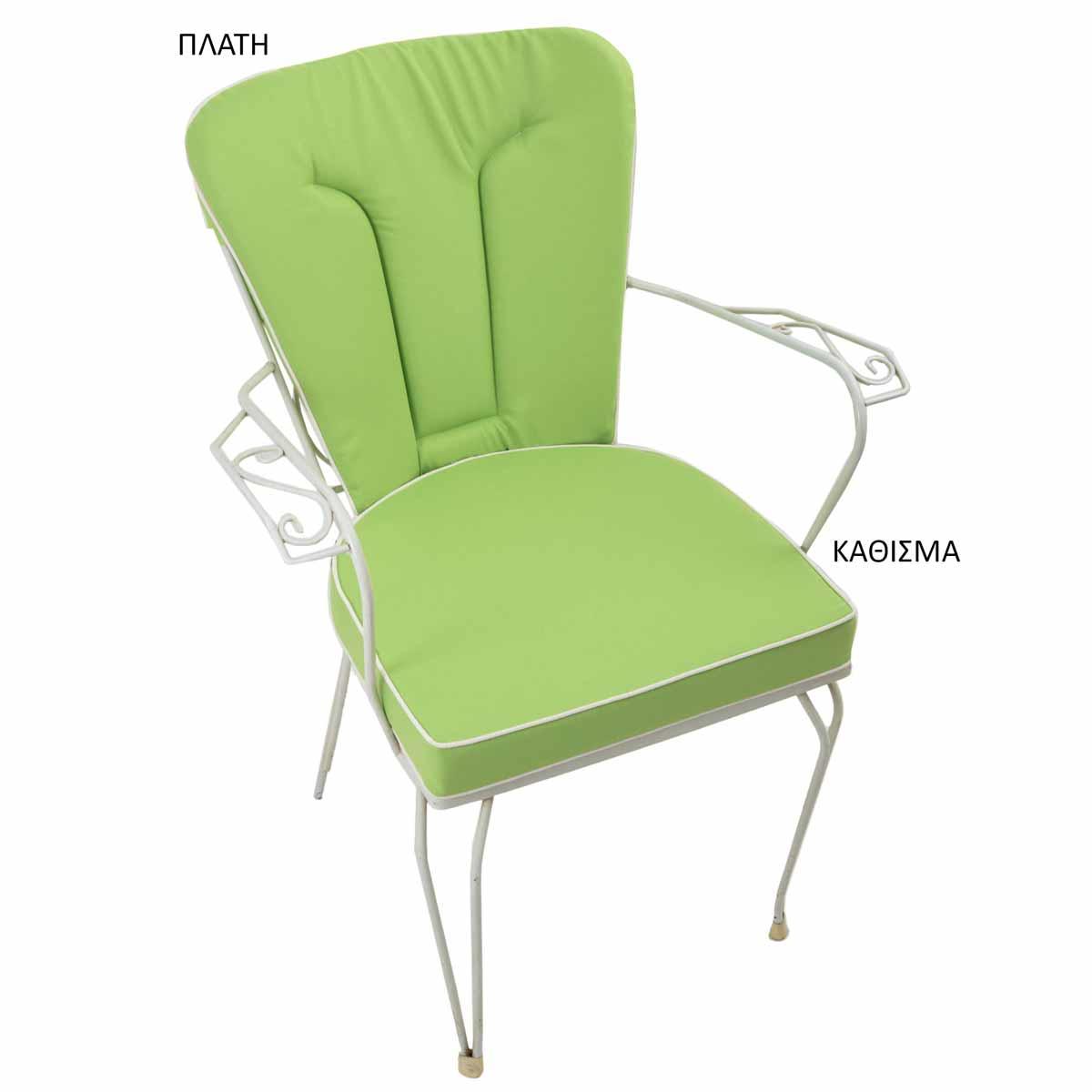 Μαξιλάρι Πλάτης Φερ Φορζέ Be Comfy Green 801