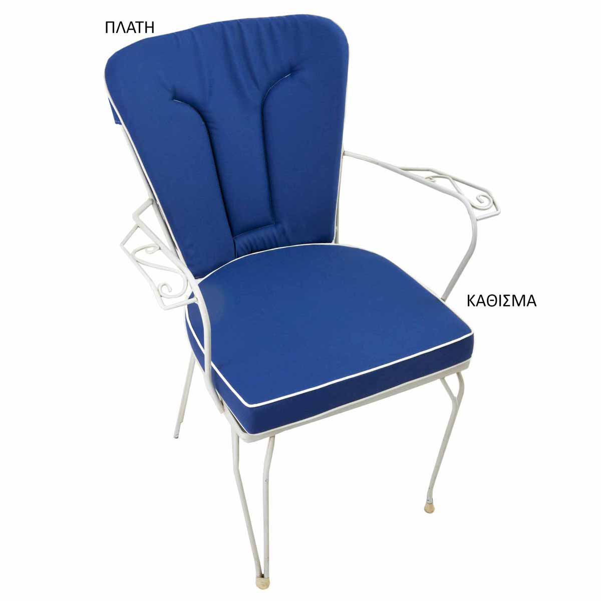 Μαξιλάρι Πλάτης Φερ Φορζέ Be Comfy Blue 802