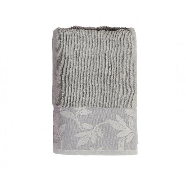 Πετσέτες Μπάνιου (Σετ 3τμχ) Nef-Nef Lush Grey