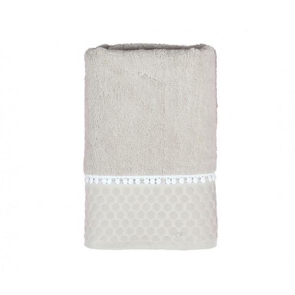 Πετσέτες Μπάνιου (Σετ 3τμχ) Nef-Nef Soho Beige