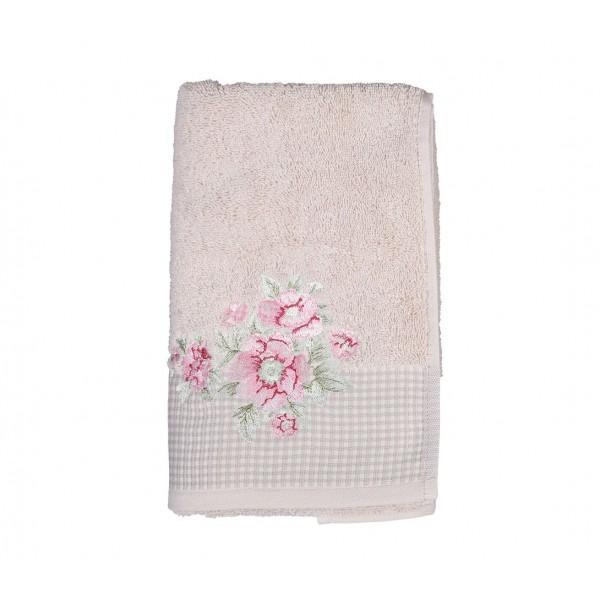 Πετσέτες Μπάνιου (Σετ 3τμχ) Nef-Nef Bouquet Beige