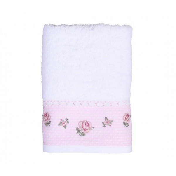 Πετσέτες Μπάνιου (Σετ 3τμχ) Nef-Nef Tyrell White