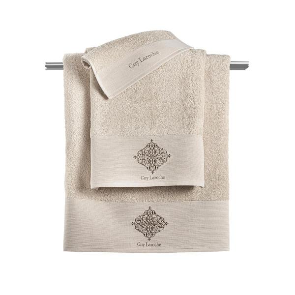 Πετσέτες Μπάνιου (Σετ 3τμχ) Guy Laroche Callista Sand