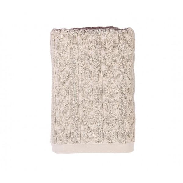 Πετσέτα Χεριών (40x60) Nef-Nef Knit Beige