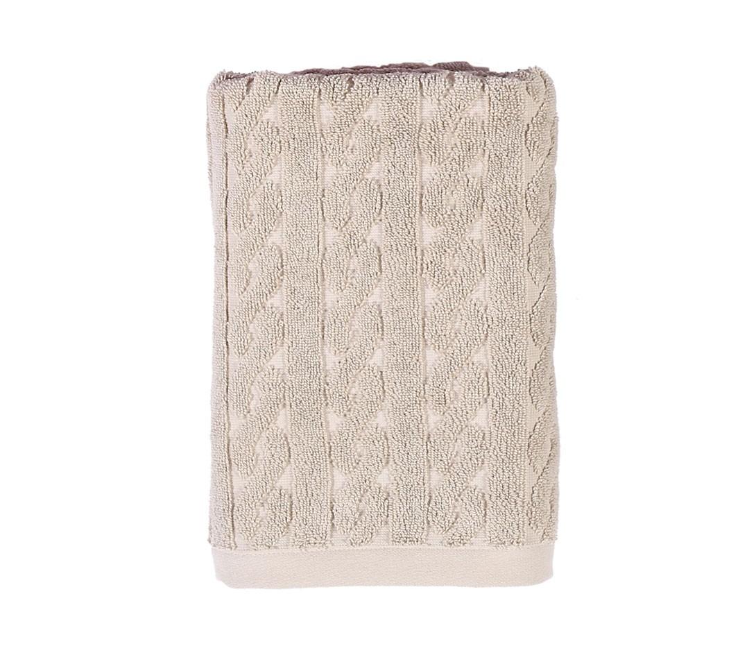 Πετσέτα Προσώπου (50x100) Nef-Nef Knit Beige