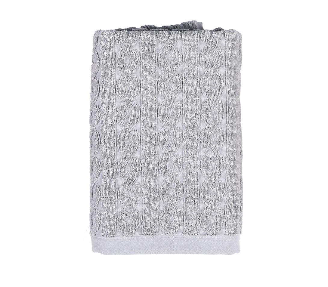 Πετσέτα Προσώπου (50x100) Nef-Nef Knit Grey