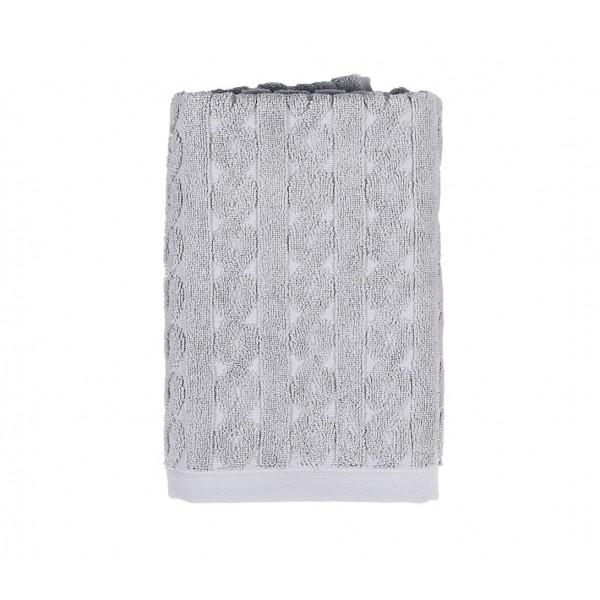 Πετσέτα Σώματος (90x160) Nef-Nef Knit Grey