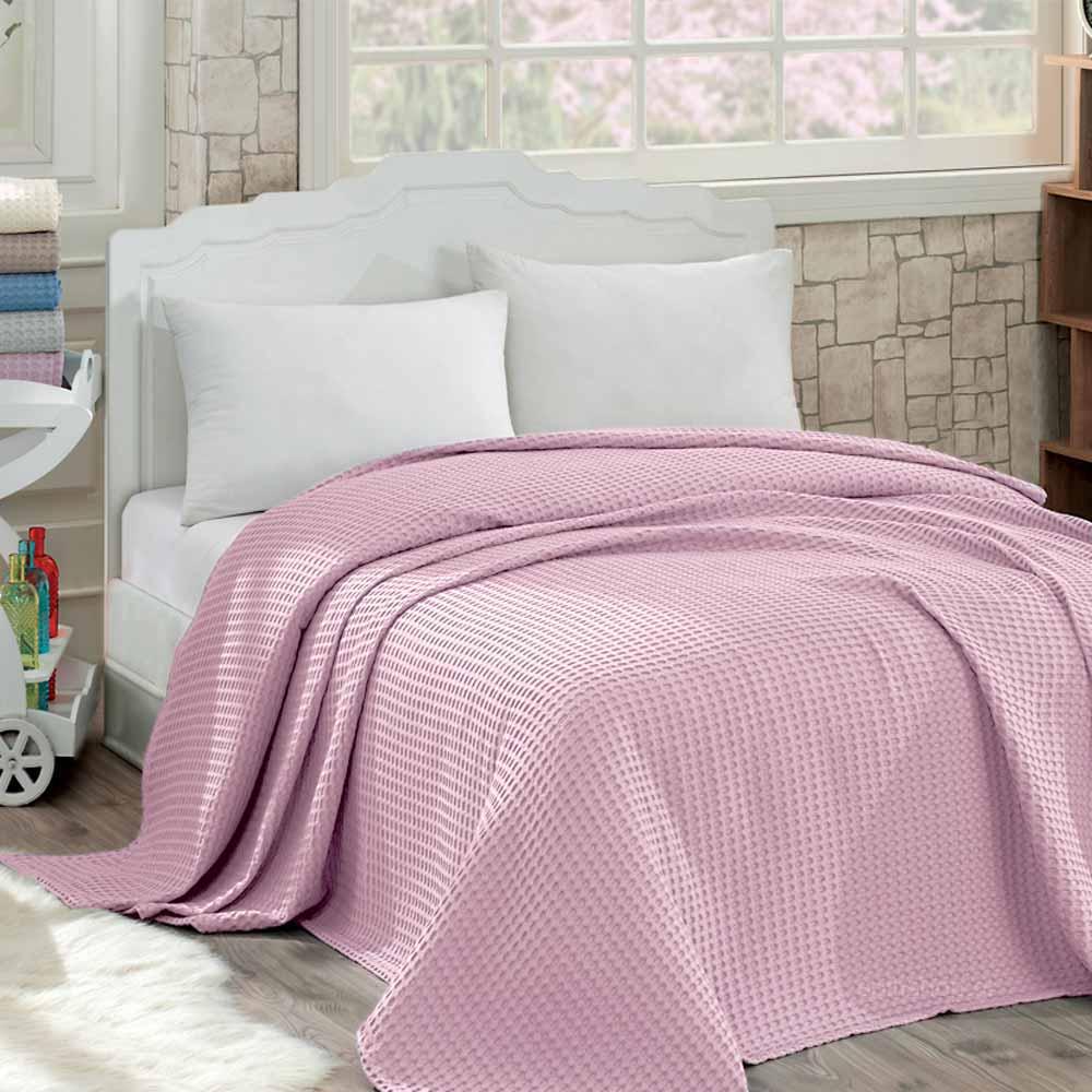 Κουβέρτα Πικέ Υπέρδιπλη Sb Home Waffle Candy