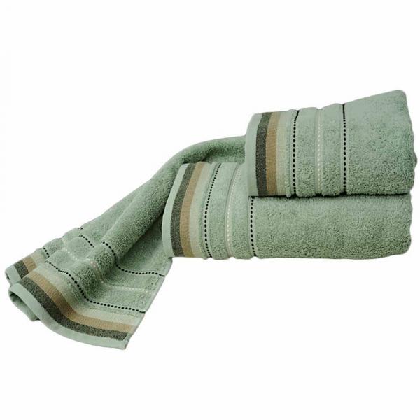 Πετσέτες Προσώπου (Σετ 2τμχ) Sb Home Sesilia Green