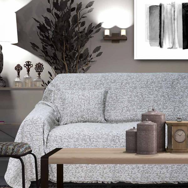 Διακοσμητική Μαξιλαροθήκη (40x40) Sb Home Lillian Taupe