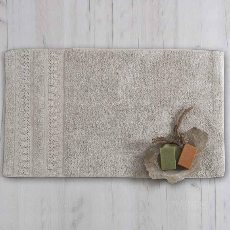 Πατάκι Μπάνιου (50x90) Sb Home Ether Silver