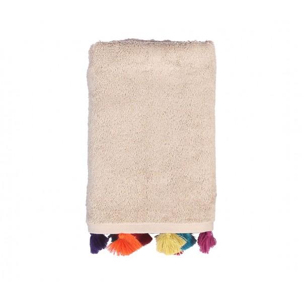 Πετσέτα Προσώπου (50x90) Nef-Nef Joy Beige
