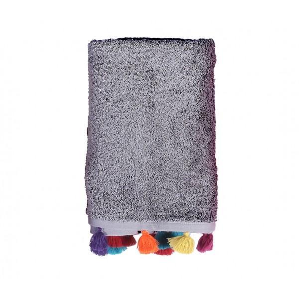 Πετσέτα Προσώπου (50x90) Nef-Nef Joy Grey