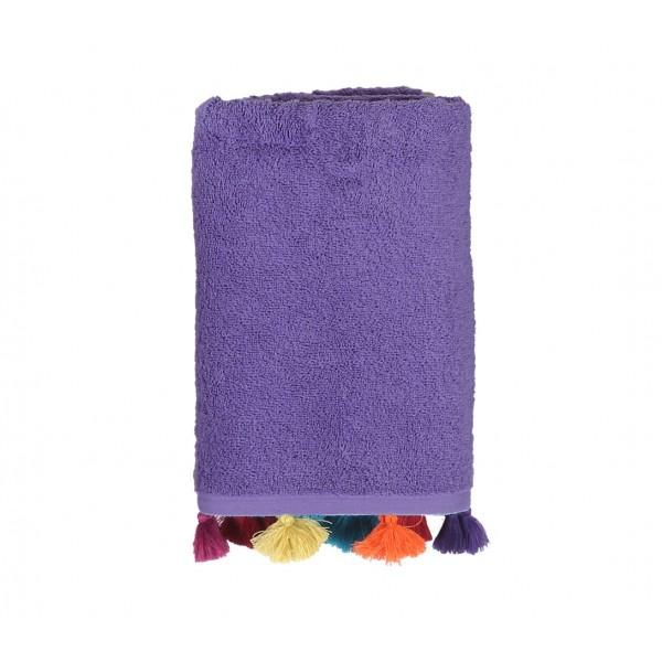 Πετσέτα Προσώπου (50x90) Nef-Nef Joy Purple