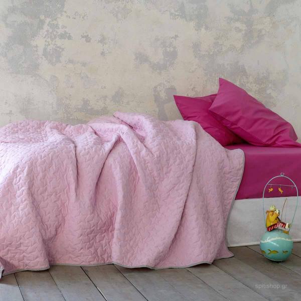 Κουβερλί Μονό Nima Kids Tuggle Pink