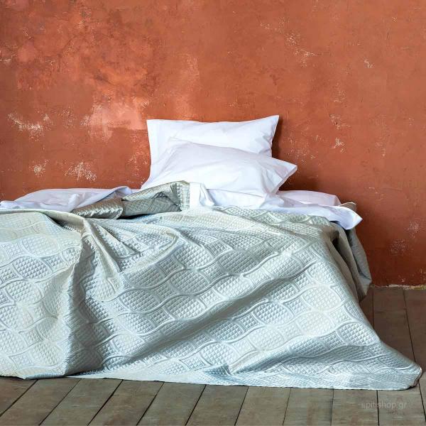 Κουβερλί King Size Nima Bed Linen Argentum