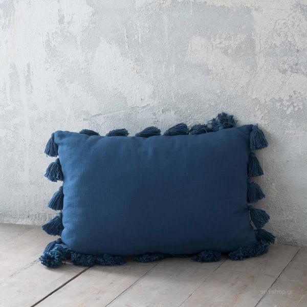 Διακοσμητικό Μαξιλάρι (40x60) Nima Deco Flojo Blue