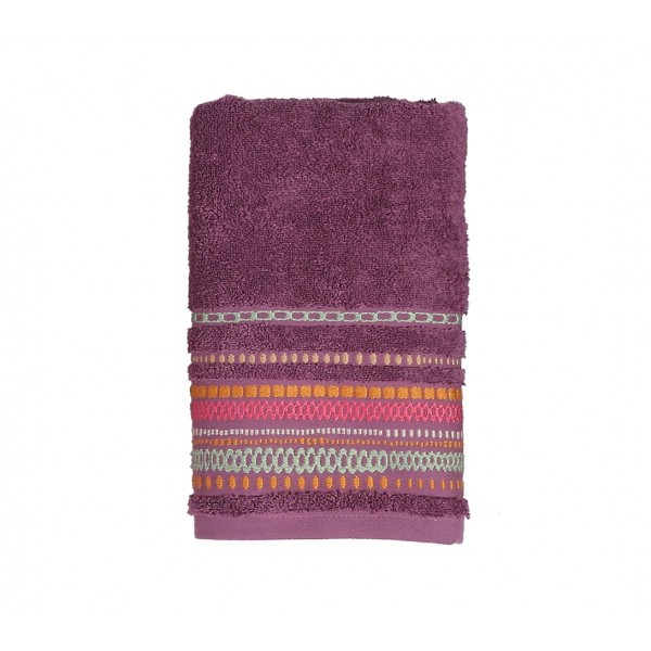 Πετσέτα Σώματος (70x140) Nef-Nef Cadena Mauve